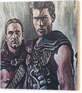 Spartacus Wood Print