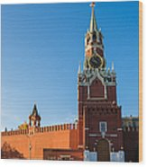 Spassky - Savior's - Tower Wood Print