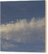 Spear Cloud Wood Print