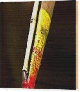 Spear Thrower Woomera Wood Print