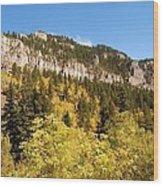 Spearfish Canyon Ridge Wood Print