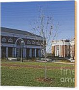 Special Collections Library And Alderman Library University Of Virginia Wood Print