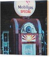 Special Mobilgas Wood Print