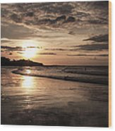 Special Sunset Wood Print