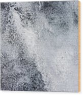 Speckled Sheet Wood Print