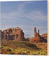 Spectacular Valley Of The Gods Wood Print