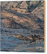 Spectacular View Of Rice Terrace Wood Print
