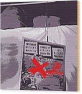 Spectators  Circus Tent Auction Adolf Hitler's 1941 Mercedes  Scottsdale Arizona 1973-2009 Wood Print