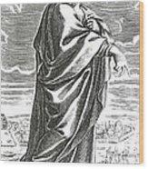 Speusippus, Ancient Greek Philosopher Wood Print