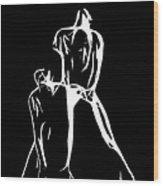 Spezial Gymnastic Wood Print