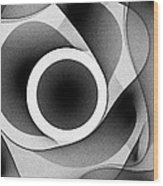 Sphere 7 Wood Print