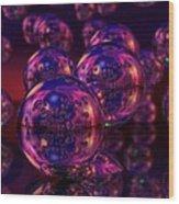 Spheres, No. 5 Wood Print