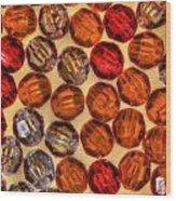 Spheres Of Beads Wood Print