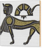 Sphinx - Mythical Creature Of Ancient Egypt Wood Print
