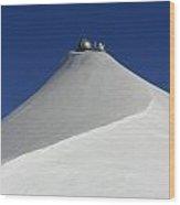 Sphinx Observatory Wood Print