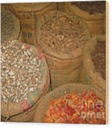 Spices From The East Wood Print