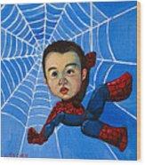 Spider-man Alan Wood Print