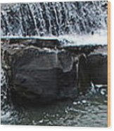 Spillway Pano Wood Print