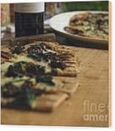 Spinach And Sun Dried Tomato Wood Print