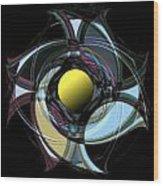 Spinners 9 Wood Print