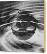 Spinning Eye Wood Print