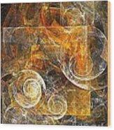 Spiral 136-02-13 - Marucii  Wood Print