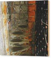 Spiral Abstract Wood Print