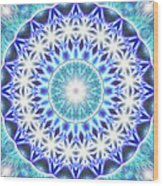 Spiral Compassion K1 Wood Print by Derek Gedney