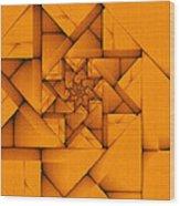 Spiral Form Wood Print