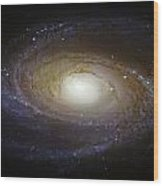 Spiral Galaxy M81 Wood Print by Jennifer Rondinelli Reilly - Fine Art Photography