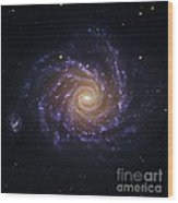 Spiral Galaxy Ngc 1232, Optical Image Wood Print