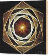 Spiral Scalar Wood Print