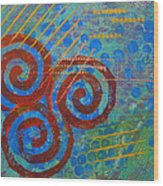 Spiral Series - Stance Wood Print