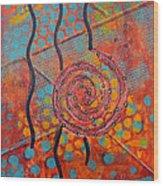 Spiral Series - Timber Wood Print