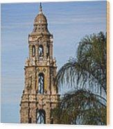 Spiral Stair Tower Wood Print