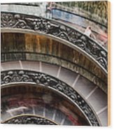 Spiral Staircase No4 Wood Print