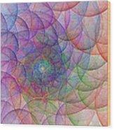Spirale Wood Print