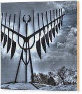 Spirit Catcher Storm Wood Print