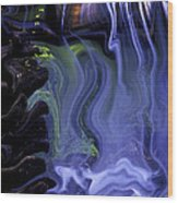 Spirit Falls Wood Print