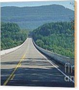 Spirit Lake Memorial Journey Wood Print