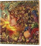 Spirit Of Autumn Wood Print