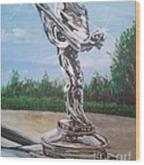 Spirit Of Ecstasy Wood Print
