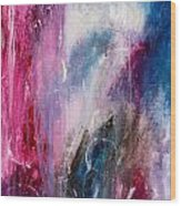 Spirit Of Life - Abstract 2 Wood Print