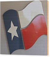 Spirit Of Texas Wood Print
