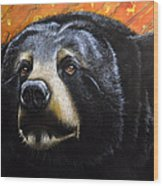 Spirit Of The Bear Wood Print