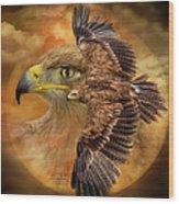Spirit Of The Wind Wood Print