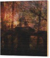Spirit Of The Woods Wood Print