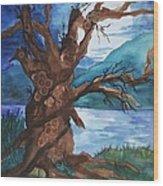 Spirit Tree Wood Print
