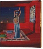 Spirits Of Arabia Wood Print