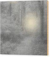Spirits Of Avalon Wood Print by Roxy Riou